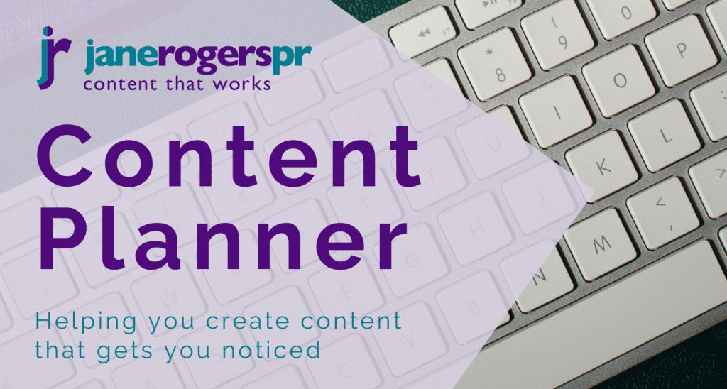 Content planner generic