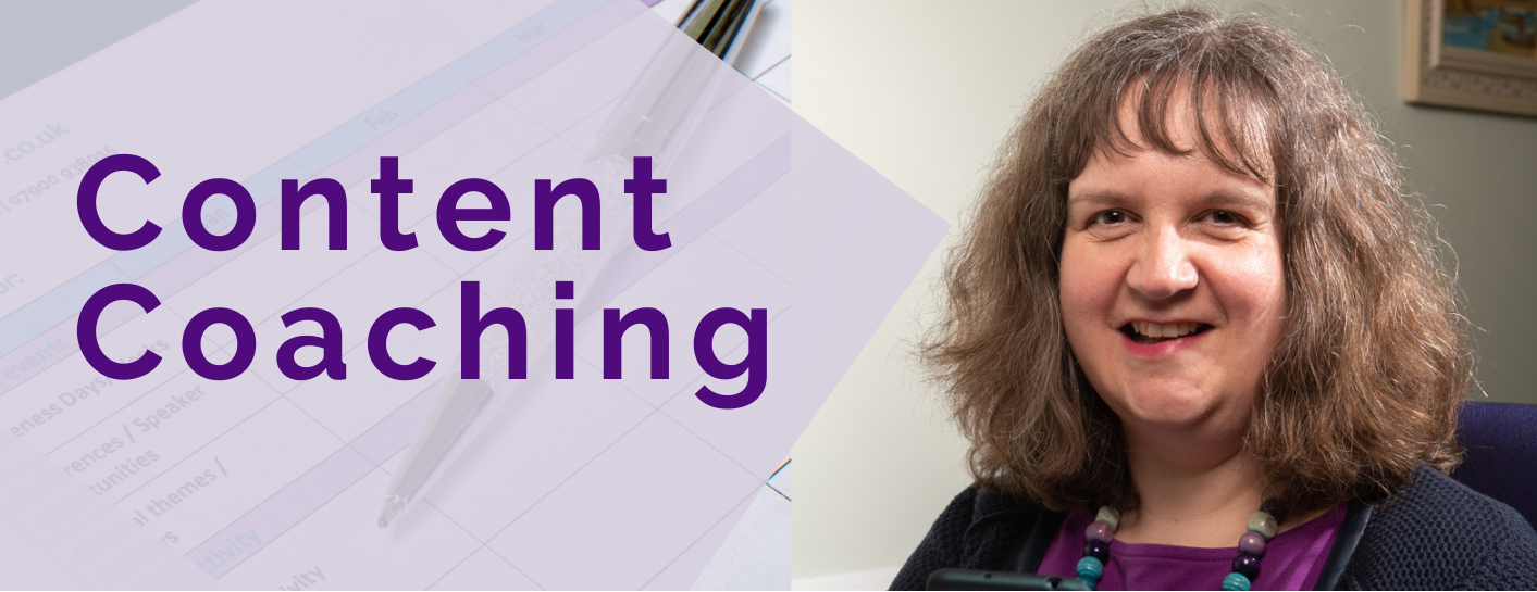 Content workshops training and coaching