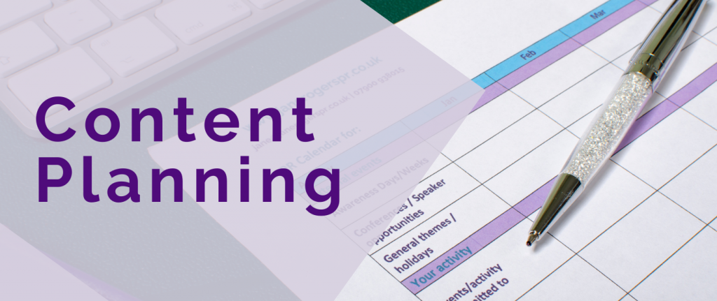 Content planner header image