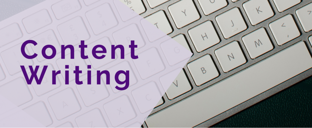 Content writing header